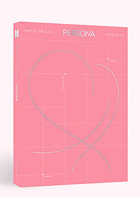 BTS - MAP OF THE SOUL : PERSONA [ver.-4] CD+Photobook+Photocard+Poster+Free Gift