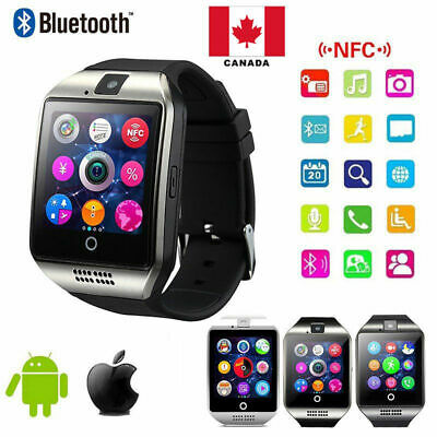 Bluetooth Smart Watch For Android HTC Samsung iPhone iOS + Camera SIM Slot NEW