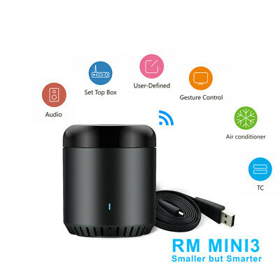 BroadLink Black Bean RM Mini3 Smart WiFi Remote Controller for iOS/Android ES