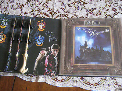Harry Potter Ultimate Collection, Movie Posters Postcards Wands Album Complete!