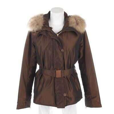 Max Mara Giacca Invernale Tgl De 36 Marrone Donna Giacca Giacca Double-Face