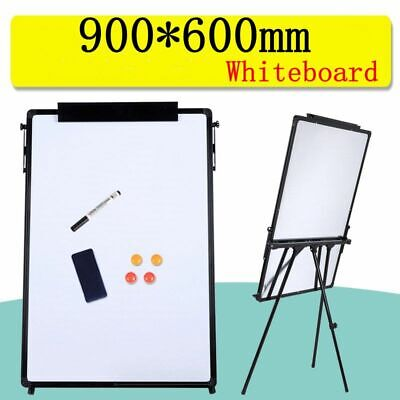 Practical Tripod Whiteboard Magnetic Large Standing Flip chart Easel Lightweight