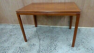 Vintage Scandinavian Teak Timber Veneer Coffee Table Mid Century