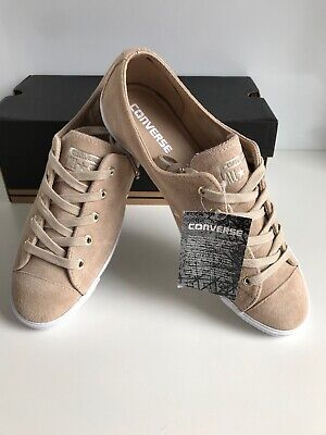 fa3a67732e4c Converse CTAS Light 2 Ox Vintage Khaki Slim Low Top Trainers Size UK7