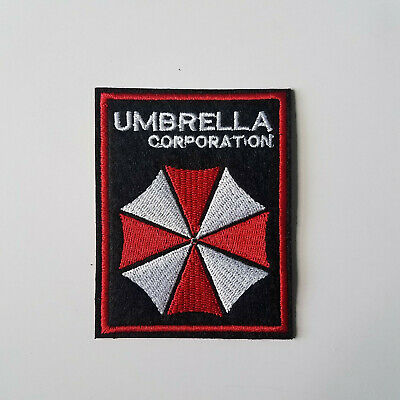 Resident Evil Umbrella Corporation Patch 3 1/4 inches tall