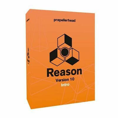 Propellerhead Reason Intro 10 Music Production Software (full retail boxed ve...