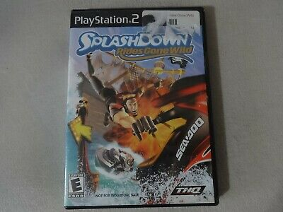 Splashdown Rides Gone Wild Sony Playstation 2 PS2 Game Complete Free Ship