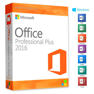 Microsoft Office 2016 Professional Plus MS Office PRO Key Instant Delivery