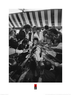 Muhammad Ali Press Art Print 24 x 31.5 Inches Officially Licensed