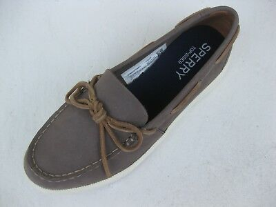 2a446de7cf64 Sperry Topsider Womens Shoes NEW $90 Oasis Canal Graphite Grey Leather 8.5 M