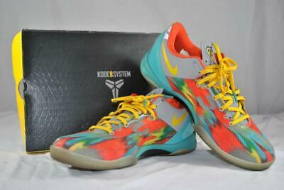 the best attitude a3a43 aac35 Nike Kobe 8 System Multi-Colored Men s Shoes Size 10.5
