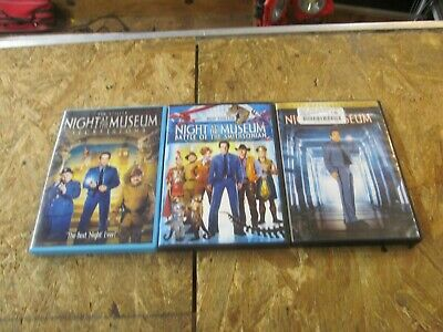 3 - NIGHT AT THE MUSEUM - DVD Movie Collection Set  (Lot 6585)