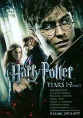 Harry Potter: Years 1-7: Part 1 One 7-Disc Set DVD VIDEO MOVIE Sorcerer Chamber