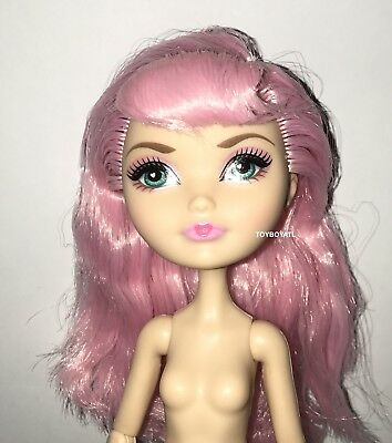 Ever After High Birthday Ball C.A. Cupid Nude Doll w/ Pink Hair NEW to OOAK Play