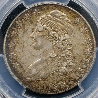 1835 Capped Bust Half Dollar Overton O-109 - PCGS AU50 - CAC Certified