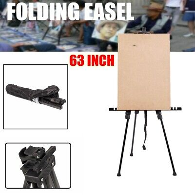 Folding Painting Easel Artist Adjustable Tripod Display Stand  w/ Carry Bag US