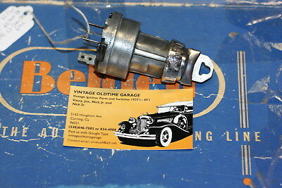 1962,1963 Chevrolet Ignition Switch Delco Remy
