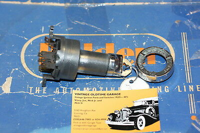 1958,1962,Chevrolet Ignition Switch Genuine Delco Remy