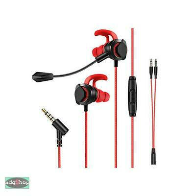Auriculares_Gaming In-Ear_Con Dual_Micrófono Para_Xbox One👏_Ps4👏 Switch👏_Pc