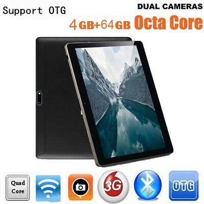 Nuevo 10.1'' Tablet Pc Android 6.0 Octa Core 4G + 64G 10 Pulgadas HD Wifi 20♠♣