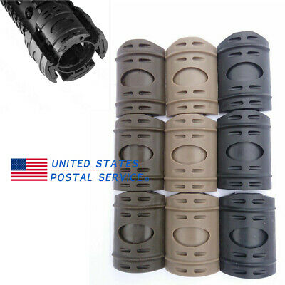 12Pcs Tactical Weaver For Picatinny Rail Hand Guard Quad Protection Cover Rubber