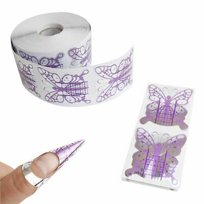 Nails Gel Extension Sticker Nail Art Professional Acrylic Forms Tips Fashion
