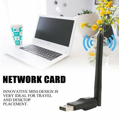 300 Mbps USB Wireless Dongle WiFi Network LAN Card 802.11n/g/b + Antenna BW