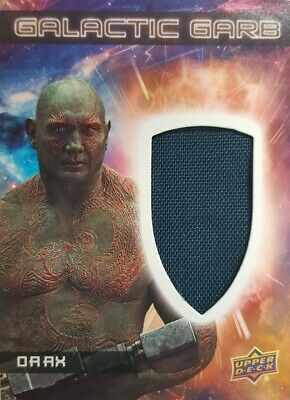 GUARDIANS of The GALAXY Vol 2 Costume Card GALACTIC Garb   DRAX  SM - 11