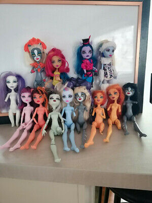 Monster High bulk #2 mixed condition dolls suit OOAK / customisers