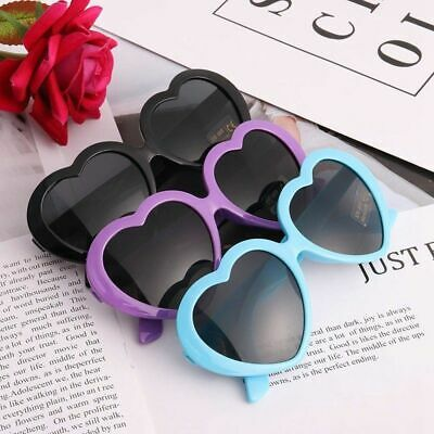 Boys Girls Children Holiday Party Heart Shaped Love Sunglasses Shades Charm
