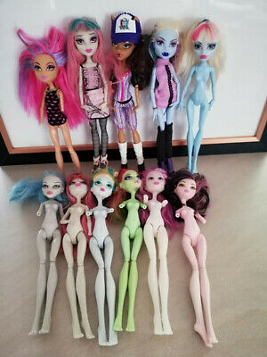 Monster High bulk #4 mixed condition dolls suit OOAK / customisers