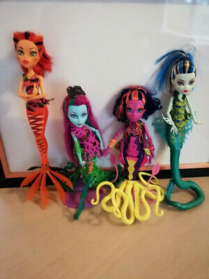HTF Monster High bulk Great Scarrier Reef dolls in great condition