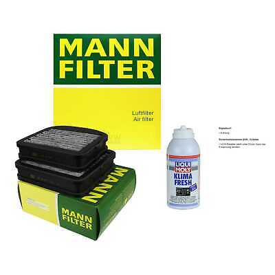 MANN Filter-Paket + Klima-Fresh für Mercedes-Benz S-Klasse Coupe Maybach