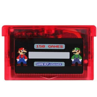 🌟150 in 1 NES FC Game Card Cartridge for GBA GBA SP GBM NDS NDSL Mario Contra