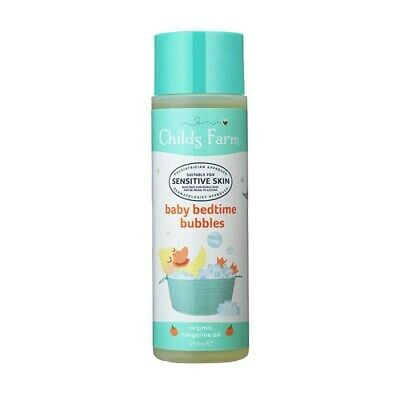 Childs Farm Tangerine Sensitive Baby Bedtime Bubbles 250ml FREE P&P