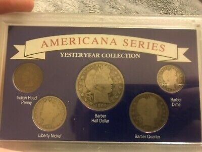 Americana Series, Yester Year Collection w/Five Coins ME626