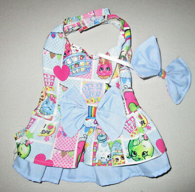 S female Dog dress [shopkins] cotton handmade