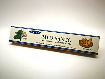 Satya Palo Santo (Holy Wood) Premium Masala Incense Sticks 15g Australian Seller