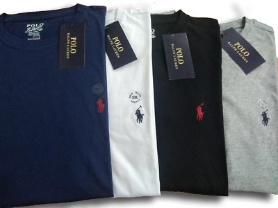 Men's Ralph Lauren Polo 100% cotton Crew Neck Short Sleeve T-shirt (Size:S--XXL)