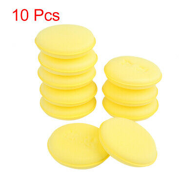 Car Wash Sponge Cleaning Cloth Washing Absorbent Foam Cleaner Tool Yellow 10pcs