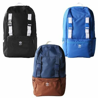 wholesale high quality separation shoes ADIDAS ORIGINALS CAMPUS BACKPACK BLUE BLACK BLUEBIRD TREFOIL ...
