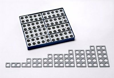 Numicon Box of 80 Numicon Shapes (Grey); Students Book, Toy, 9780198487289