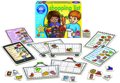 Orchard Toys Shopping List Game Family Fun Memory Game Young Children - Same Day