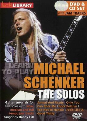 Lick Library: Learn To Play Michael Schenker - The Solos Guitar DVD (Region 0),