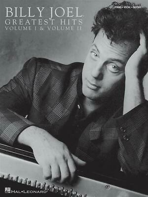 Billy Joel: Greatest Hits Volumes 1 and 2 Piano, Vocal & Guitar Sheet Music Arti