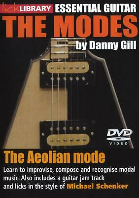 Lick Library: The Modes - Aeolian (Michael Schenker) Guitar DVD (Region 0) Instr