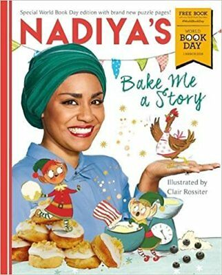 Nadiya's Bake Me a Story  World Book Day 2018