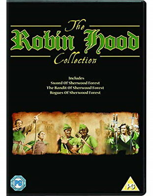 The Robin Hood Collection [DVD] [2018] [New DVD]