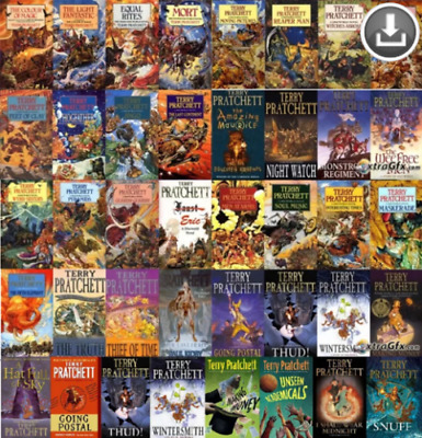 Discworld Complete Audiobook 39 Collection by Terry Pratchett ( Audio Book)
