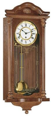 Hermle 70509-070341 - Wall Clock - Mahogany - Pendulum Clock - New